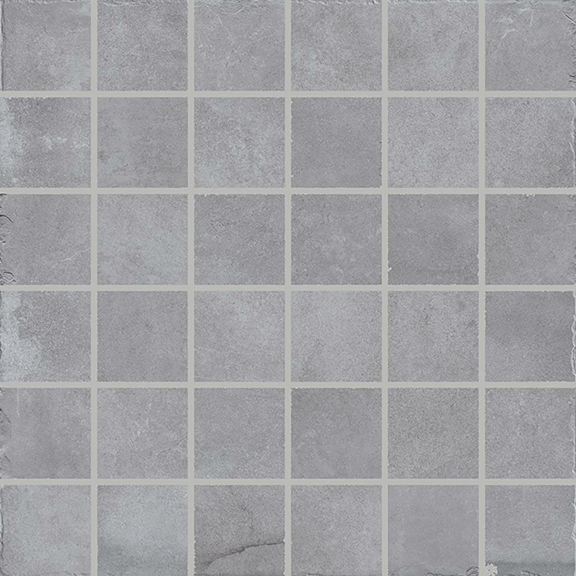 MOSAICO LIMESTONE GREY (5X5) (30x30)