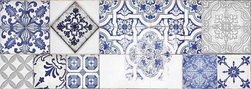 DECOR TIMELESS BLUE (25,3x70,6)