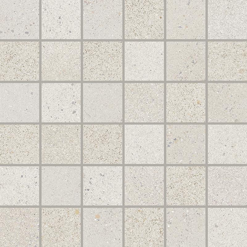 MOSAICO LITOS WHITE (5X5) (30x30)