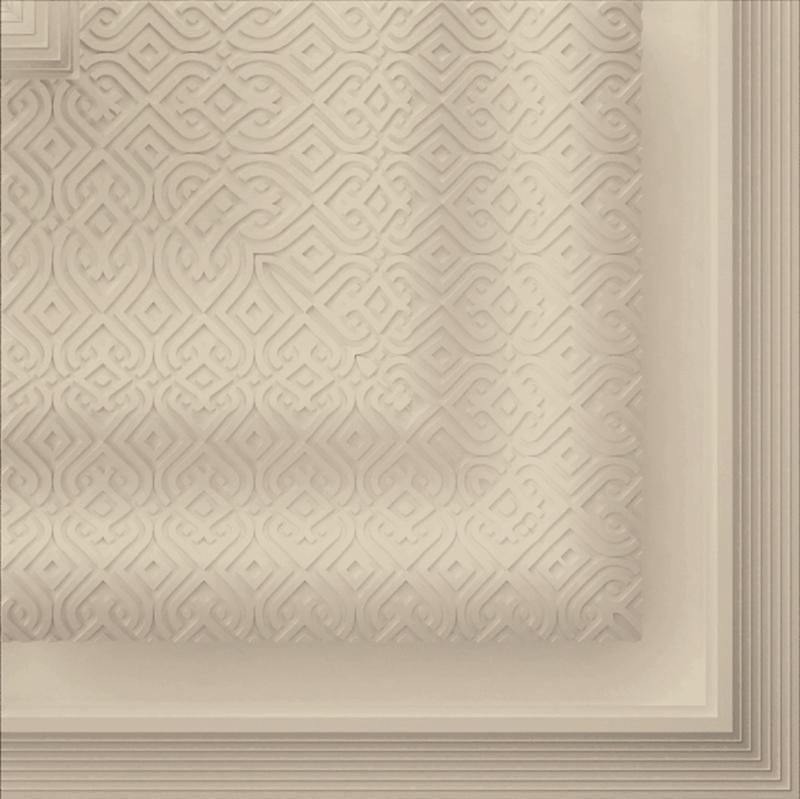 ANGULO ESPEJO COUTURE BEIGE (10x10)
