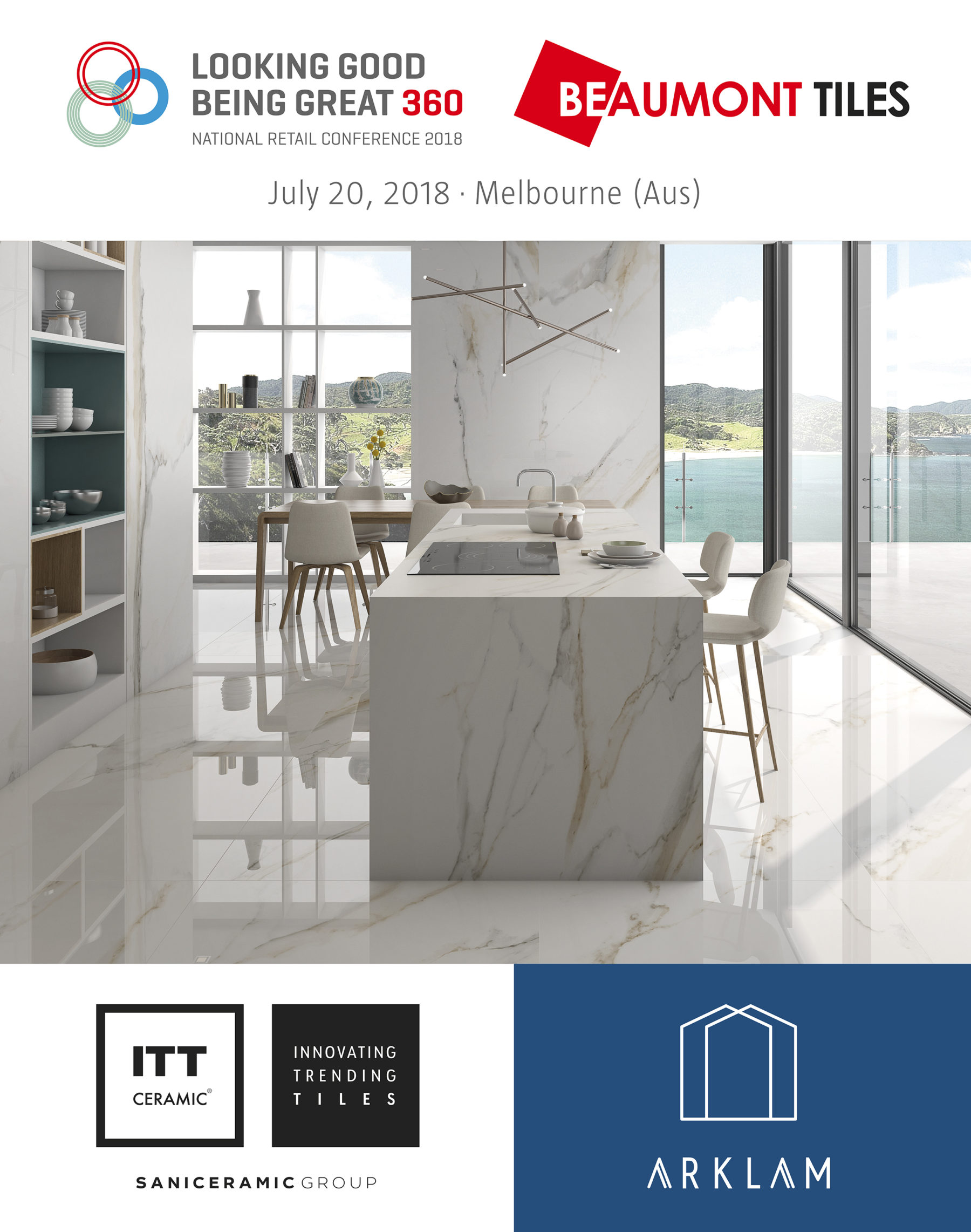 Itt Ceramic Attends The Beaumont Tiles National Retail Conference 2018 In Australia