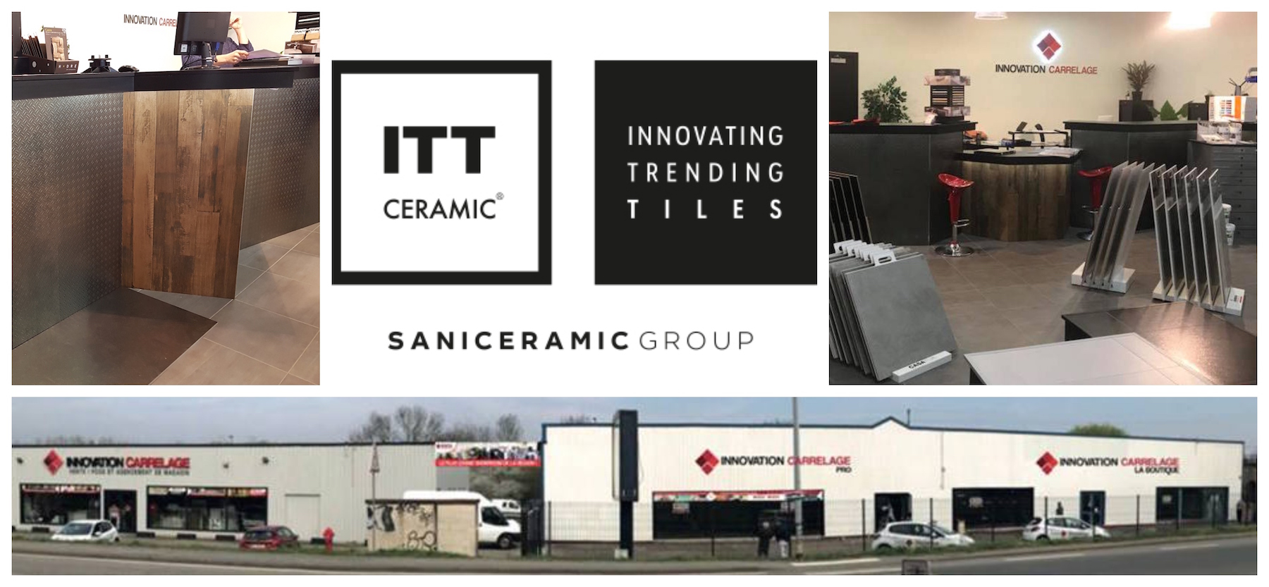 ITT Ceramic strengthens its partnership with Innovation Carrelage
