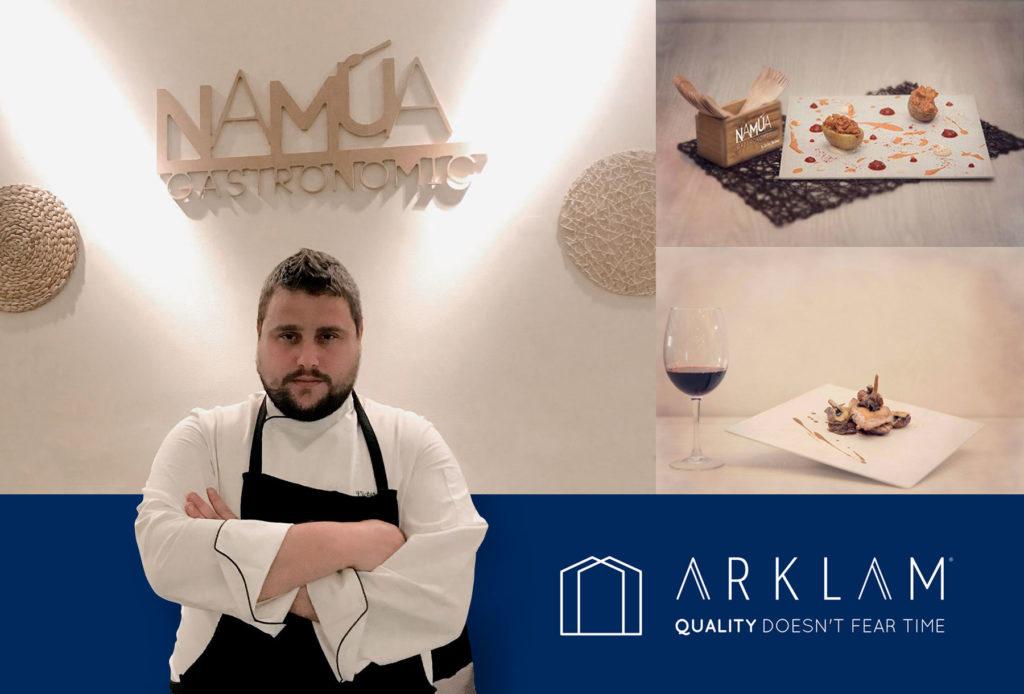 Arklam showcooking Victor Soriano Espacio Cocina