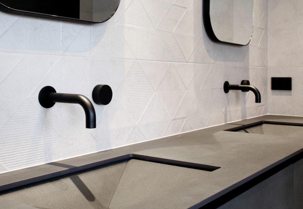 Element Interior Design project with ITT Ceramic